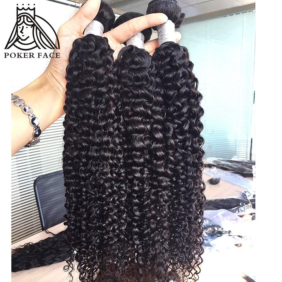 28 30 Inch Kinky Curly Bundles Deals 1 3 4 Bundles 100% Human Hair Extensions Peruvian Hair Weave Human Hair Bundles Remy