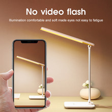 YAGE New Desk Lamp Touch Table Lamps Working Desktop Foldable Dimmable Eyes Protection Study Lamp LED Light Bedroom Living Room