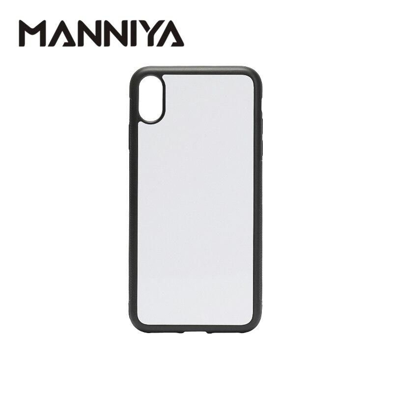 MANNIYA 2D Sublimation Blank rubber phone Case para iphone XS Max con inserciones de aluminio y pegamento ¡envío gratis! 100 unids/lote-in Cajas ajustadas from Teléfonos celulares y telecomunicaciones on AliExpress - 11.11_Double 11_Singles' Day 1