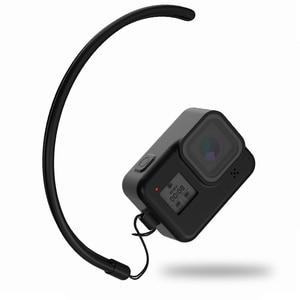 Image 4 - Futerał silikonowy do GoPro Hero 8 ochronny futerał silikonowy obudowa skóry pokrowiec do GoPro Hero 8 czarny akcesoria do kamer w ruchu