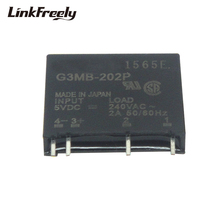 G3MB-202P PCB SSR Voltage Relay Module 5VDC Input 240V 2A Output DC Control AC Micro Solid State Relay 12V 24V цена в Москве и Питере