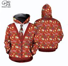 цена PLstar Cosmos deer Santa Claus Merry Christmas 3D Printed Hoodie/Sweatshirt/Jacket/shirts Mens Womens HIP HOP real man style-4