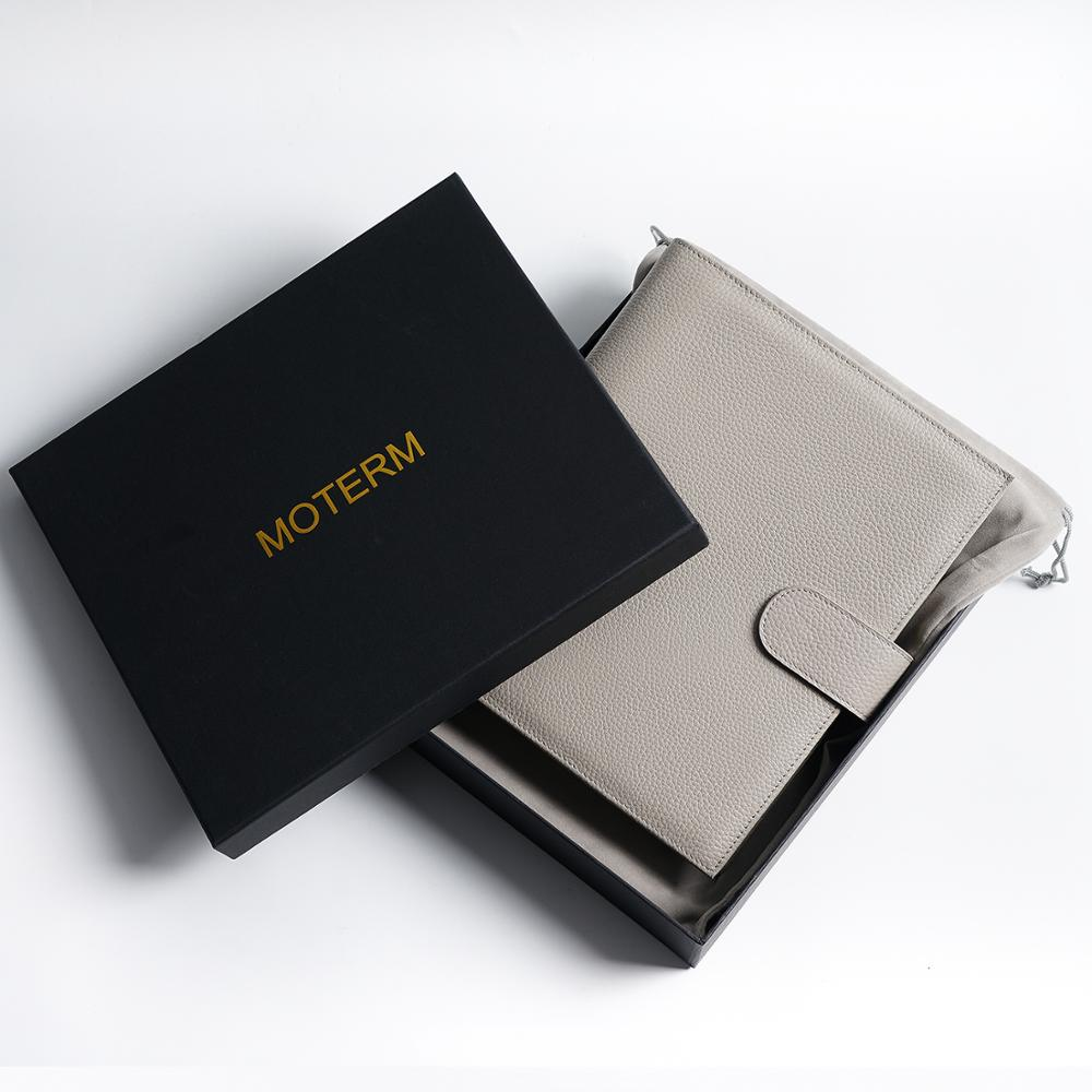 Moterm New Series Luxe A5 Rings Planner with 30 MM Silver Rings Binder Agenda Organizer Diary Journal Notepad Sketchbook 6