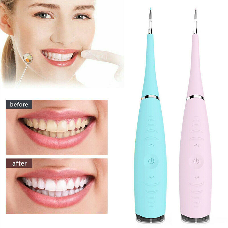 Electric Ultrasonic Sonic Dental Scaler Tooth Calculus Remover Cleaner Tooth Stains Tartar Tool Tartar Whiten Teeth Cleaner(China)