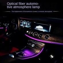Fiber Optic Atmosphere Lamps Ambient Lamp App Control  Car Interior Light Remote Control RGB Auto Decorative Light