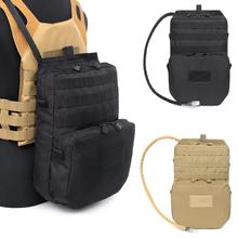 Vest Backpack Tactical-Vest Molle Pouch Water-Bag Water-Hydration-Pouch Durable for 3L