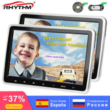 цены на 10.1 Inch Car Headrest TV Monitor DVD Video 1024x600 screen Button Game Remote Control HDMI-1080P IR AV FM Support 32 Bit game  в интернет-магазинах