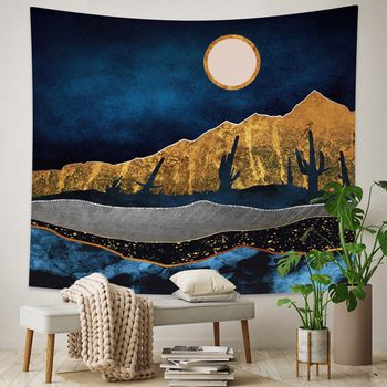 Abstract Landscape Wall Tapestry 2