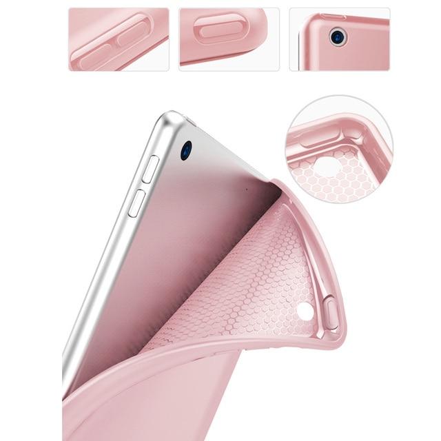 Trifold Smart Case for iPad 10.2 inch 2019 7th Gen , Auto Sleep/Wake Lightweight Stand Case for iPad 10.2 -inch 3
