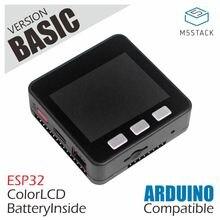 M5Stack Officiële Voorraad Aanbieding! ESP32 Basic Core Development Kit Extensible Micro Controle Wifi Ble Iot Prototype Board Voor Arduino