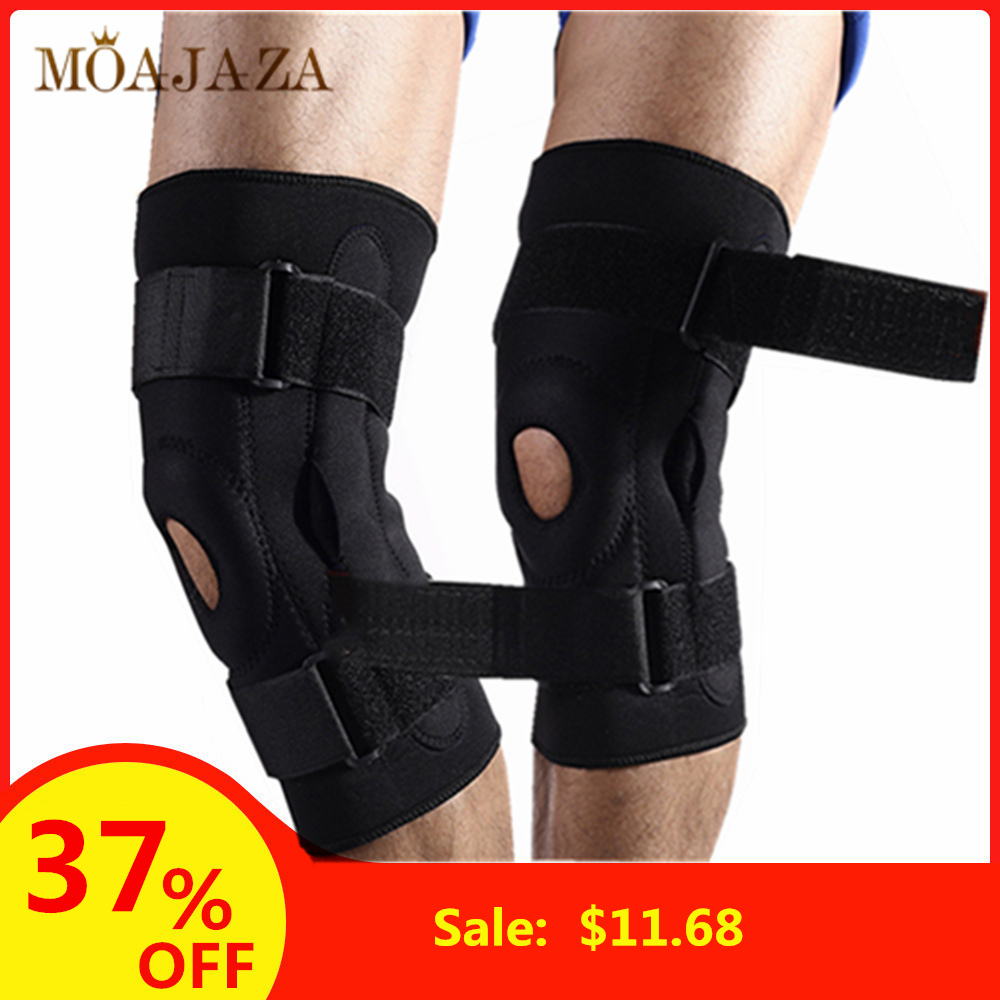 1Pcs Force Stabilizer Foot Brace Arthritic Orthosis Knee Strap Joint Pain Relief Kneecap Protector Orthopedic Knee Booster