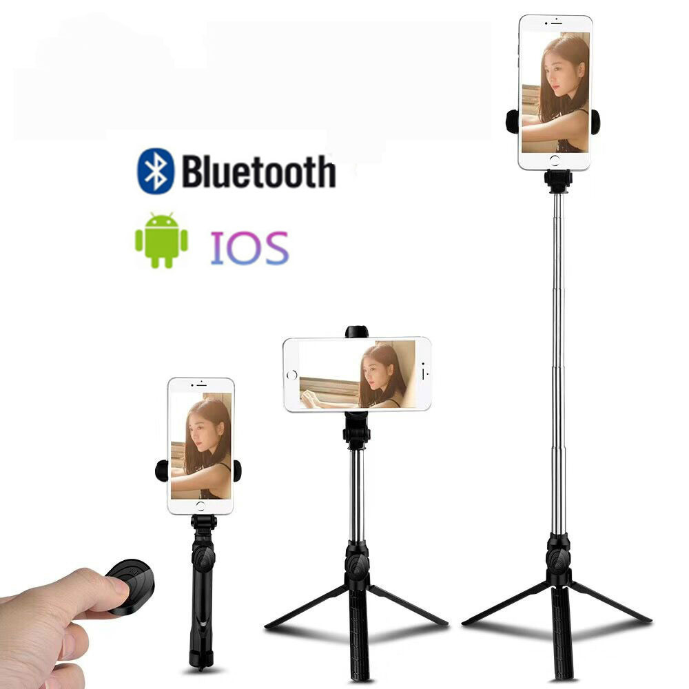 Mini Tripod For Phone Bluetooth Remote Tripod Portable Monopod Extendable Mini Camera Stand Universal Phone Tripods