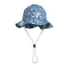 Панама для девочек летняя пляжная шляпа от солнца с широкими