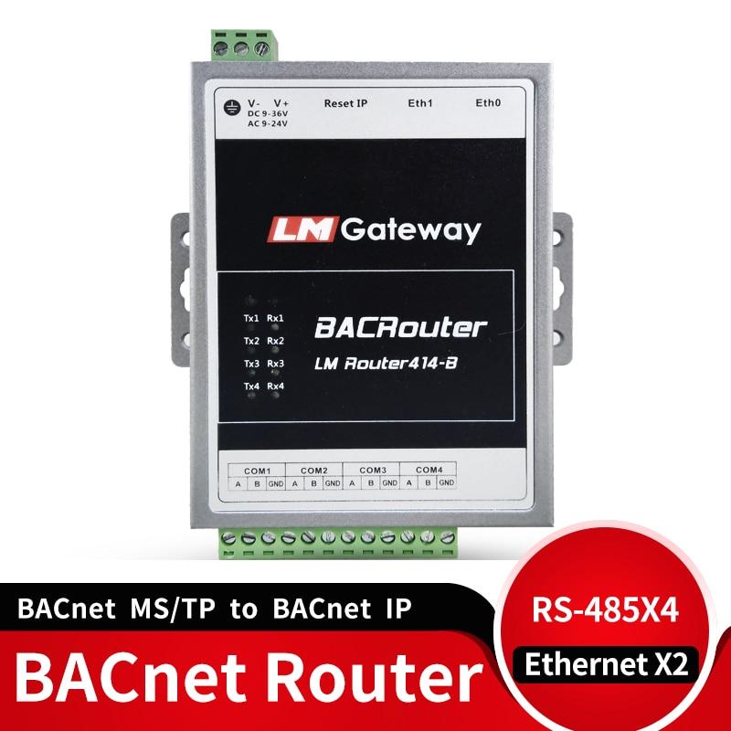 BACnet маршрутизатор BACnet ms/TP к BACnet IP