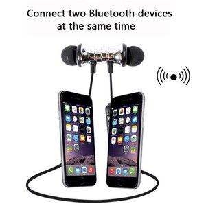 Image 2 - Antoksky XT11 Từ Bluetooth Thể Thao Không Dây Tai Nghe Bluetooth Cho Dành Cho IPhone 6 6S 8X7 Xiaomi Tay miễn phí