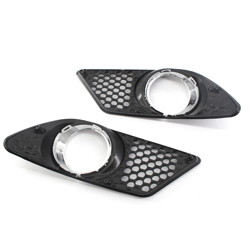 Decor Fog Light Car Cover A2048850353 Replacement Accessories Parts Exterior 1 pair Vehicle Front Bumper Brand New