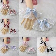 Hand-Sleeve Lace Lolita Origional Sister Soft Sweet All-Match