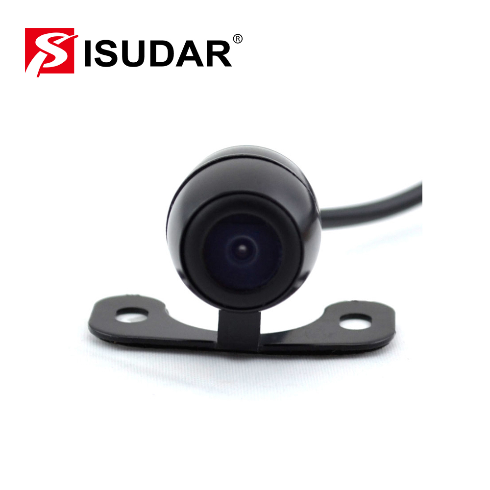 Isudar Universal Car Rear View Parking Camera HD Waterproof Reverse Camera With Parking Line DC 12V shockproof antijamming