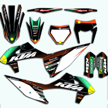 For KTM SX SXF EXC XC XCF 2020 Stickers Motocross Graphics Backgrounds Decals For KTM SX-F XC-F 125 150 250 350 450 Full Set motorcycle graphics stickers decals for ktm sxf mxc xc sx exc 125 200 250 300 350 400 450 525 2005 2006 2007