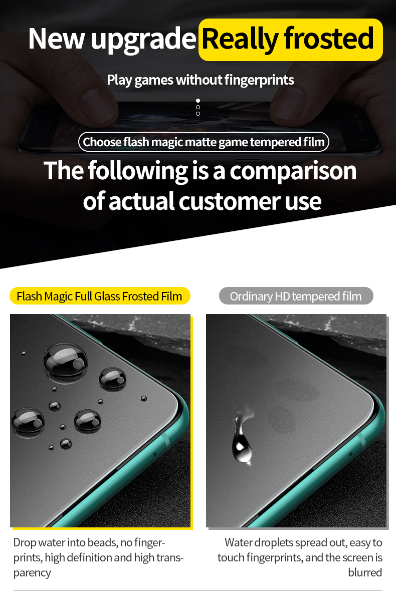 SmartDevil Amazing Full Screen Coverage Tempered Glass for OnePlus 8T/9/9R 7