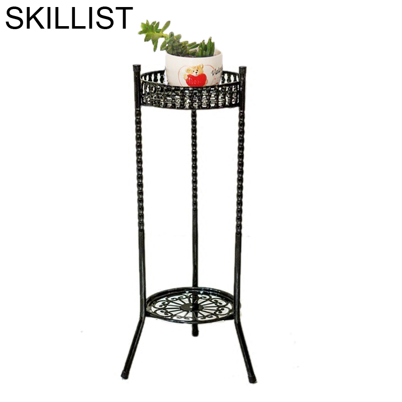 A Ripiani Decorative Metal Balcony Decoration Support Pour Plante Mensole Per Fiori Balkon Balcon Flower Stand Plant Shelf