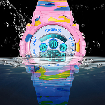 Camouflage Digital Sport Wristwatch