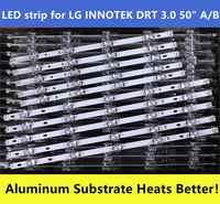 """10 unids/set nuevo LED de Innotek Drt 3,0 50 """"para LG 50LB5610 50LB650V 50LB653V 50LF5800 6916L-1978A 1779A 1982A 1983A 1735A 1736A"""