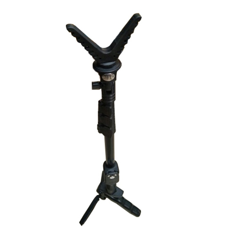 Outdoor Hunting Accessories Bipod For Rifle Shooting Stick Rack V-Yoke Shooting Gun Rest / Rack Universal  Camera Tripod