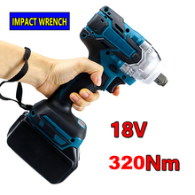 Brushless Electric Wrench 18V Impact Wrench Socket For Makita 18V Battery Hand Drill