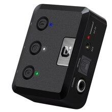 Transmisor estéreo de baja latencia con Bluetooth 5,0, dispositivo de música Digital Coaxial SPDIF óptica, adaptador de 24 bits, Aptx HD