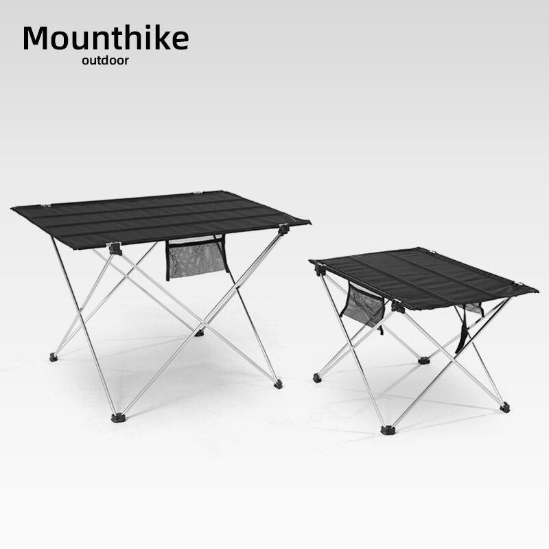Ultraleve ao ar livre dobrável mesa de acampamento liga alumínio caminhadas piquenique leve viagem churrasco pesca portátil mesa rolo