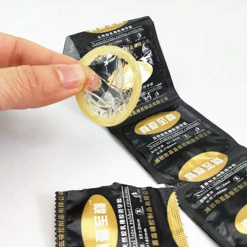 200pcs Condom Flavor Extra Safe Super-lubrication Latex Condom for Men Sex Toy Product Best With Full Oil Package wholesale <font><b>bulk</b></font> image