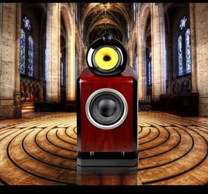 Bookshelf-Box Monitoring Speaker Nautilus Featured Hifi 8-Inch Fever Three-Way M-004