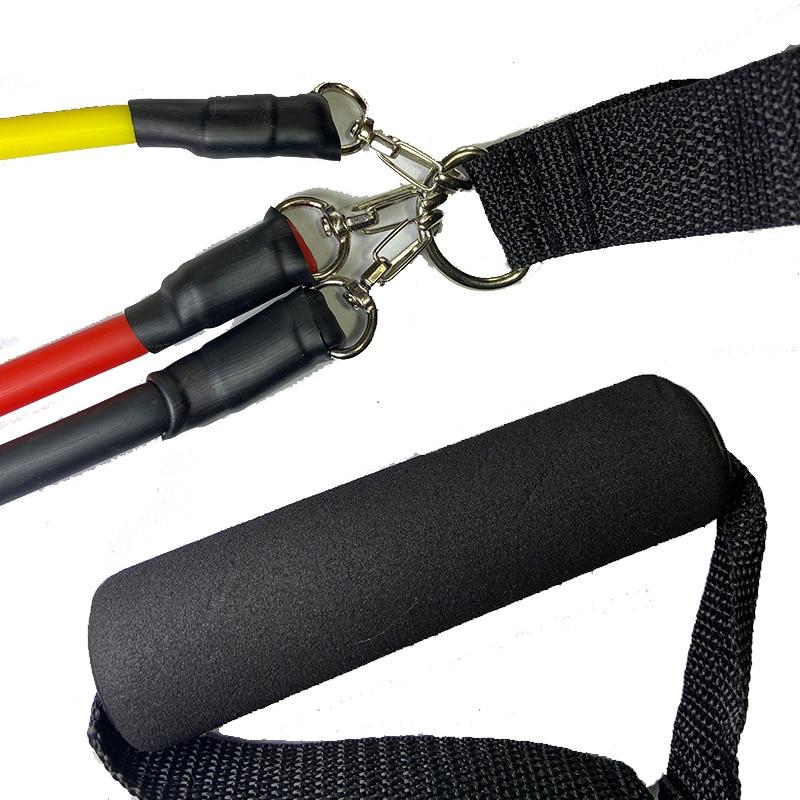Набор эспандеров для фитнеса, эластичные ленты для тренировок, 11 шт.-4