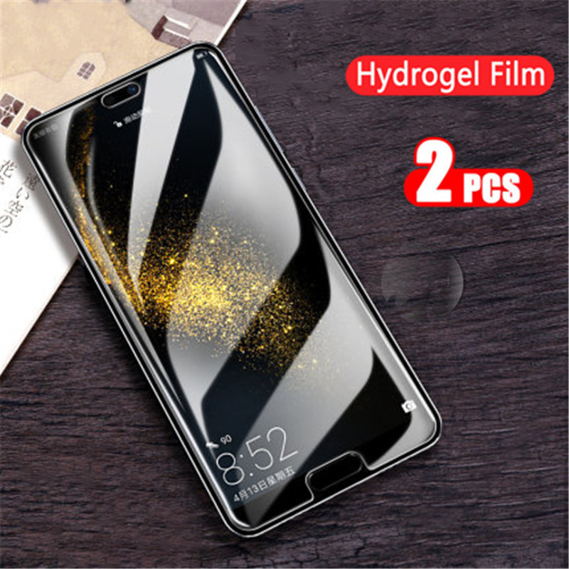2pcs Screen Protector Hydrogel Film For <font><b>Huawei</b></font> <font><b>Honor</b></font> <font><b>8x</b></font> 9 Mate 20 x Lite Film For <font><b>Honor</b></font> 8 c lite nova 3 3i e 4 5 Protective Film image