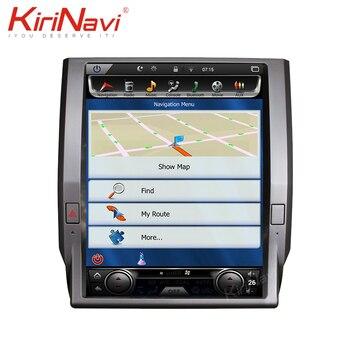 """KiriNavi écran Vertical Tesla Style 12.1 """"Android 8.1 lecteur DVD de voiture pour Toyota Tundra autoradio Auto GPS Navigation 2014-2019"""