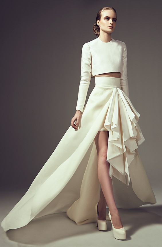 New Arrival Two Piece 2018 Long Sleeve Formal Prom Gowns O Neck Satin White Evening Party Elegant Mother Of The Bride Dresses
