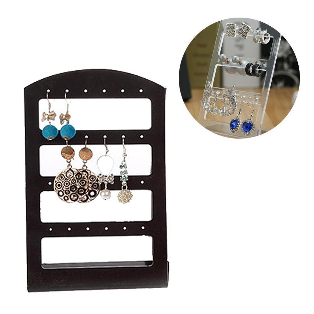 Earrings Ear Studs Display Rack Stand Jewelry Organizer Holder 24 Holes Earrings Display Display Show Show Jewelry Xin