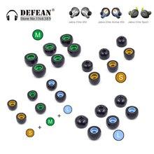 Memory Foam Ear Tips para auriculares inalámbricos Ture Jabra Elite 75t, Elite 65t, Active 65t, Evolve 65t auricular TWS Pro