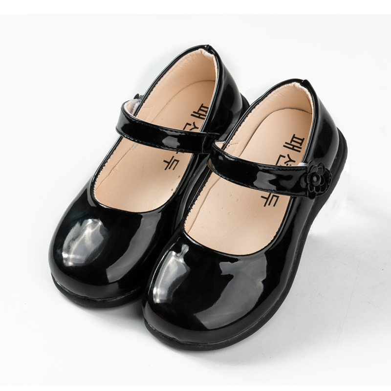 Spring Autumn Baby Girls Shoes For Kids Children School Black Leather Shoes For Student Dress Shoes Girls 4 5 6 7 8 9 10 11-16T