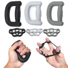 Hand Grip Set Strengthener Finger Exerciser Resistance Band Carpal Expander For