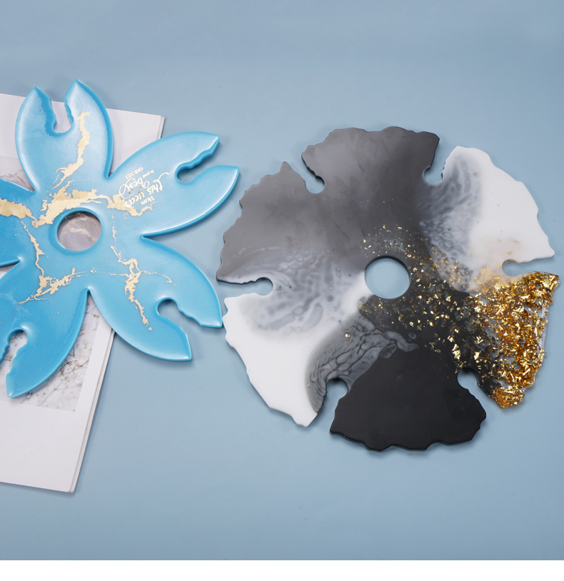 DIY Crystal Epoxy Tortoise Ashtray Coaster Desktop Decoration Silicone Mold
