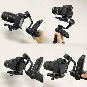 Image 5 - חצובה כדור ראש הר מתאם שחרור מהיר קליפ צלחת מהדק Arca שוויצרי SLR DSLR מצלמה Ballhead חצובה Baseplate מתאם