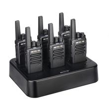 Retevis RT668 Walkie Talkie 6 PCS PMR 446 Two Way Radio Walkie Talkies communication equipment Rechargeable for Hotel Restaurant
