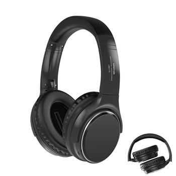 Foldable Bluetooth Headphones Active Noise Cancelling Wireless Headset Hifi Deep Bass Earphones with Microphone for Music zealot b21 bluetooth 4 0 stereo bass hifi headphones touch contorl noise cancelling portable wireless sports headphone earphones
