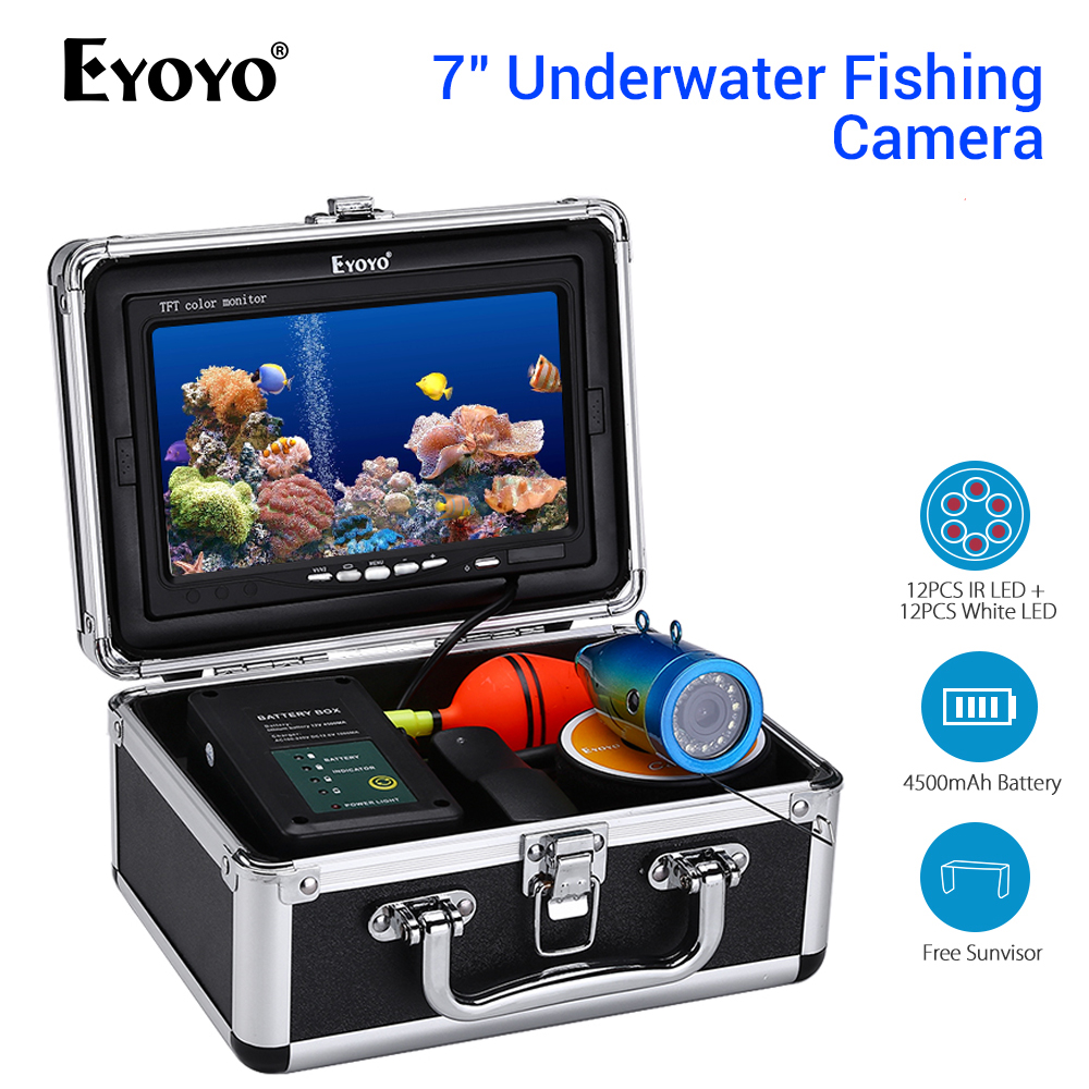 Eyoyo EF07 lokalizator ryb podwodna kamera wędkarska 7