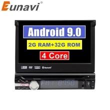 Eunavi Đa Năng Một Trong 1 Din Android 9 Máy Nghe Nhạc Đa Phương Tiện Dvd Radio Âm Thanh Tự Động Dẫn Đường Gps 1din Headunit Bluetooth Wifi usb