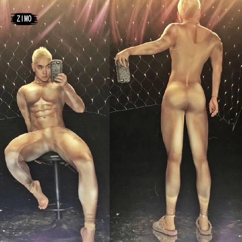 muscle-homme-body-nu-homme-invite-gogo-sexy-dj-ds-passerelle-impression-combinaison-sexy-scene-costume-rave-festival-cuir-fourrure-manteau-nouveau