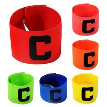 New Football Team Captains Armband Paste Winding Type C Word Mark Good Quality Durable