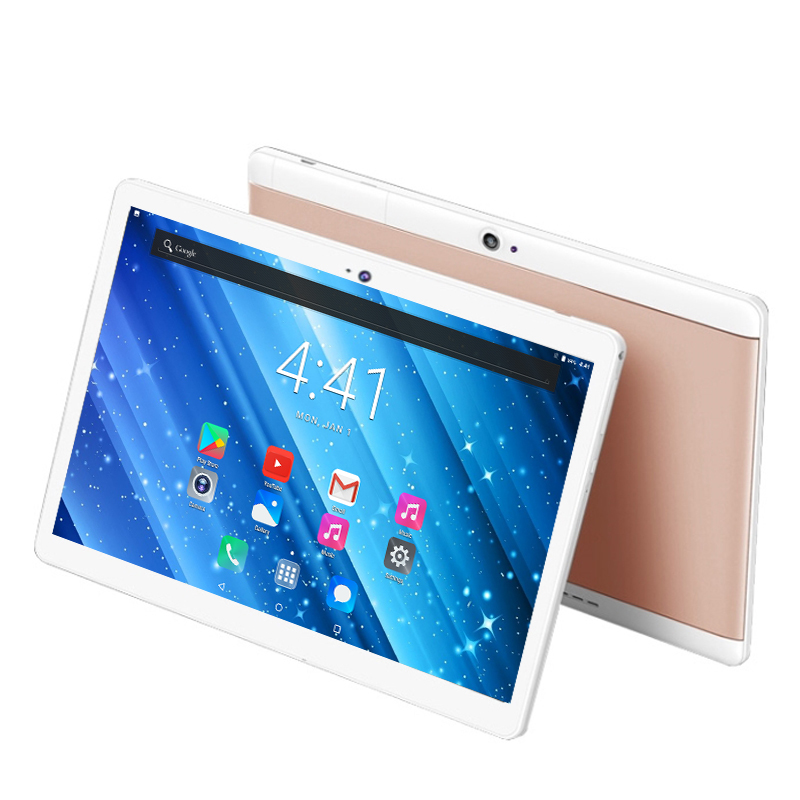 YAHU Android 8.0 OS 10 Inch Tablet Pc Google Play 6GB RAM 128GB ROM Octa Core 1280*800 IPS GPS WiFi Phone Tablets Kids Tablet